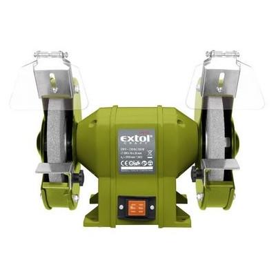 Dvojkotúčová stolová brúska 200mm Extol Craft