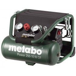 Kompresor bezolejový Power 250-10 W OF Metabo