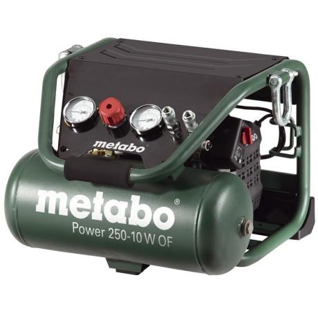 Kompresor bezolejový Power 250-10 W OF Metabo