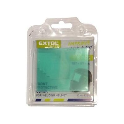 Plastový ochranný kryt pre zváraciu kuklu 5ks Extol Craft