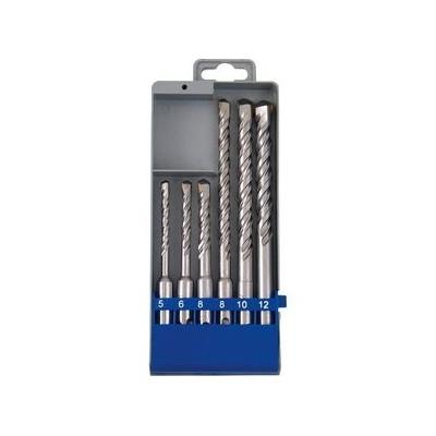 Vrtáky do betónu SDS-plus, 4-dielna sada, pr.6-8-10-12mm, Extol