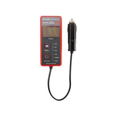 Digitálny tester autobatérie a alternátoru BT 12 Extol Premium