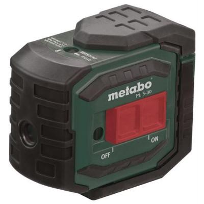 Samonivelačný päťbodový laser PL 5-30 Metabo