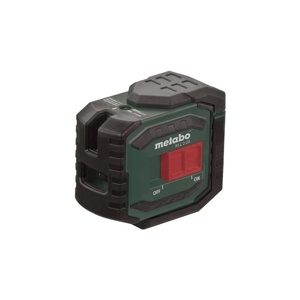 Krížový samonivelačný laser KLL 2-20 Metabo