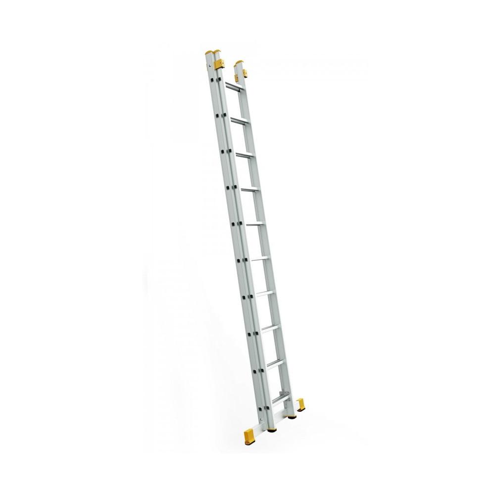Dvojdielny univerzálny rebrík Eurostyl 7-14 priečok