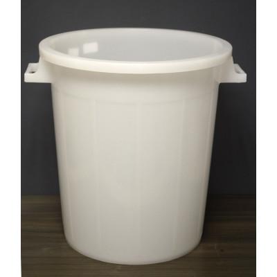 Sud z bieleho plastu - rôzne veľkosti