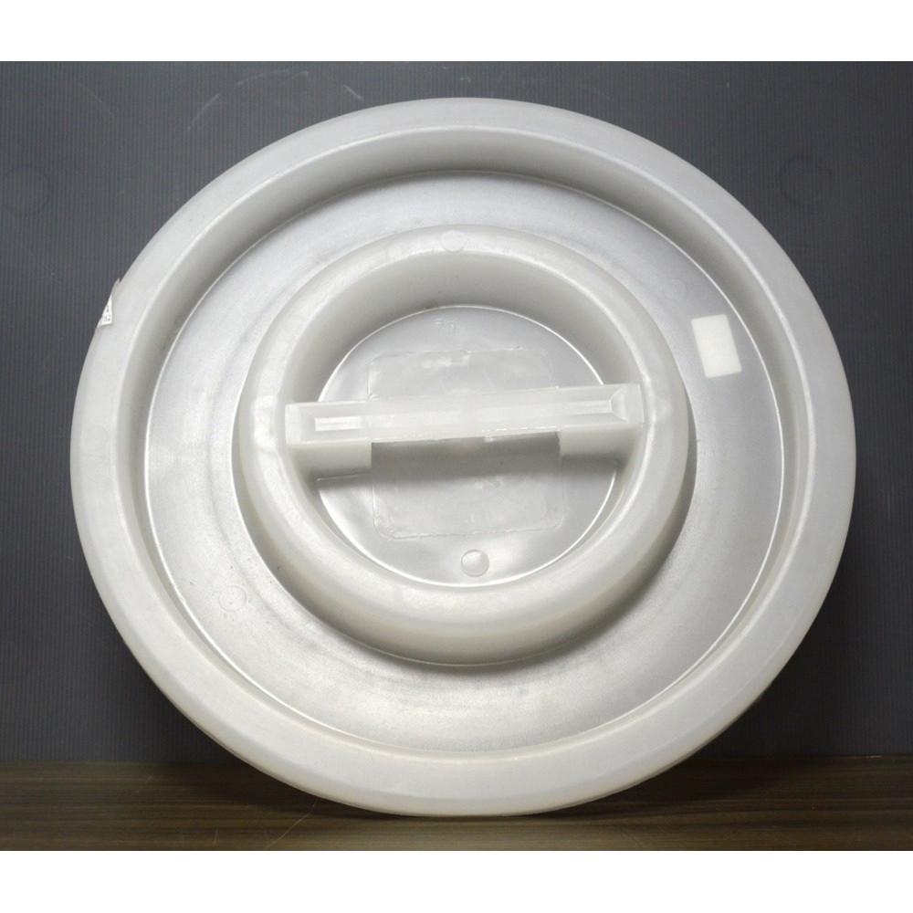 Vrchnák na sud z bieleho plastu - rôzne veľkosti