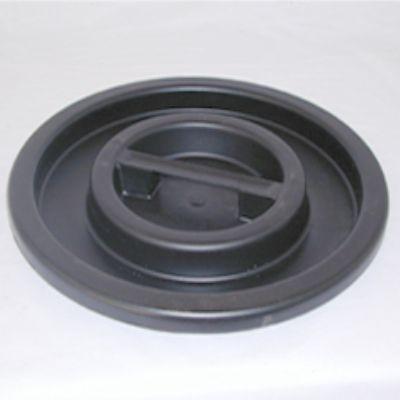 Vrchnák na sud z čierneho plastu - rôzne veľkosti