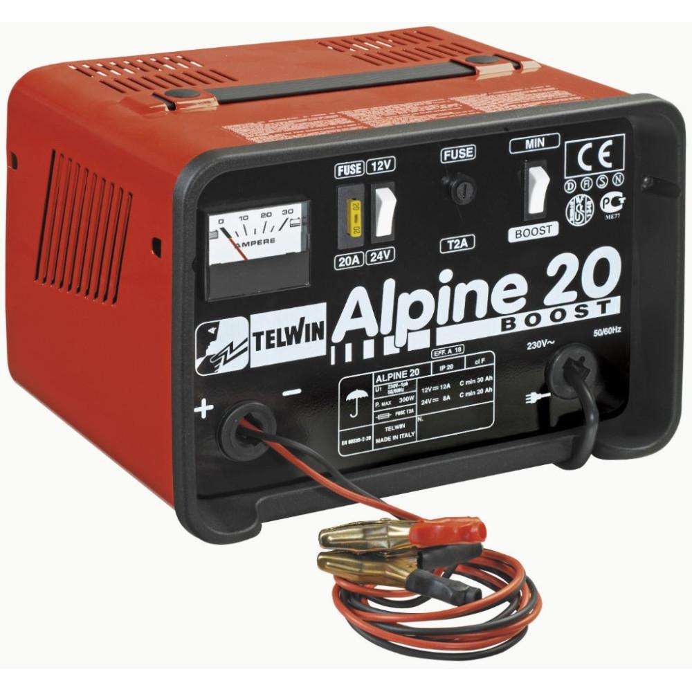 Nabíjačka autobatérií Telwin Alpine 20 BOOST