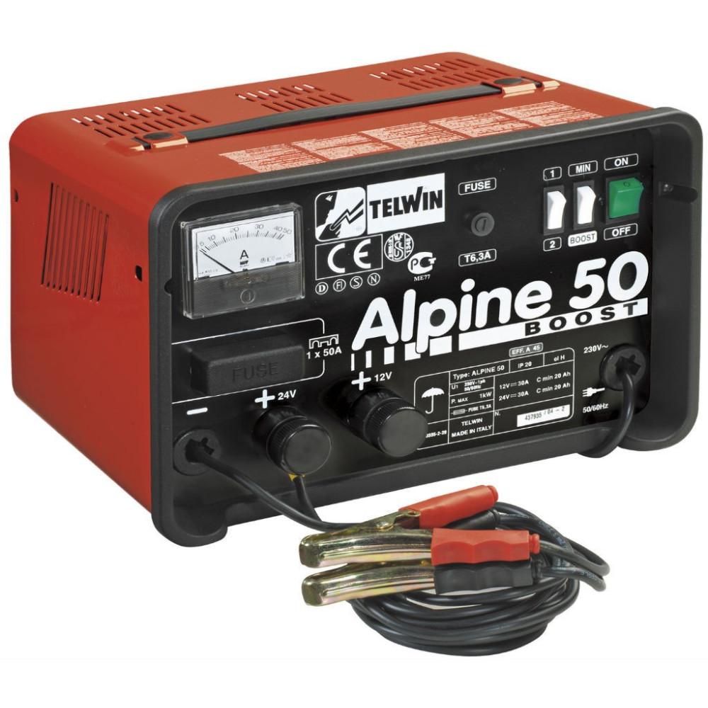 Nabíjačka autobatérií Telwin Alpine 50 BOOST