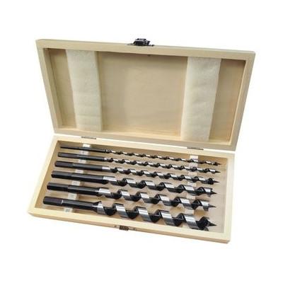 Vrtáky do dreva 16-20mm, dĺžka 260mm, sada 6ks Extol Premium
