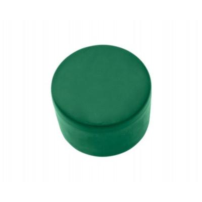 Okrúhla čiapočka na stĺpik PVC zelená