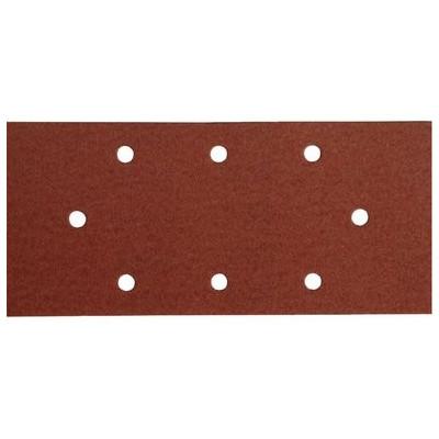 Brúsny papier na suchý zips 10ks, 8 otvorov, 93x190mm, P60
