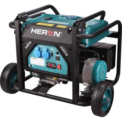 Elektrocentrála benzínová rámová  HERON