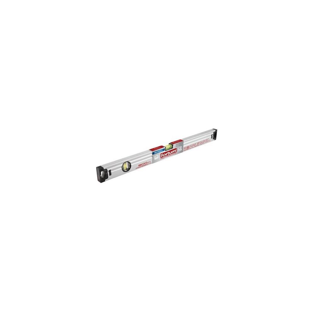 Vodováha hliníková 2000mm, 2 libely, presnosť 0,5mm/1m, gumenné koncovky
