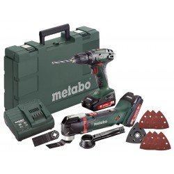 Combo Set BS 18 + MT 18 LTX Metabo