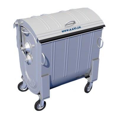 Kontajner na zber komunálneho odpadu 1100 l Zn