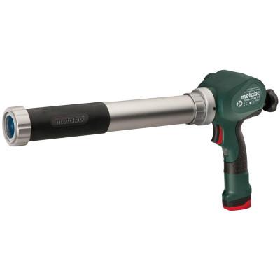Aku kartušová pištoľ PowerMaxx KPA 10,8 V 600 ml Metabo (vrátane nabíjačky LC 40)