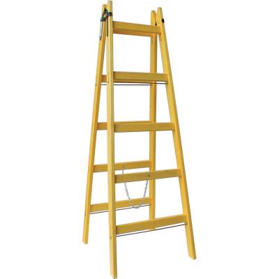 Dvojitý drevený rebrík - viac veľkostí