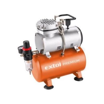 Kompresor bezolejový Extol Premium 3l