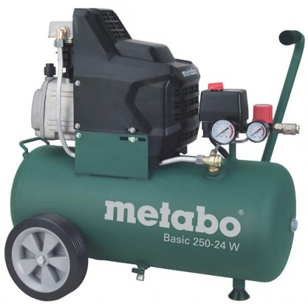 Olejový kompresor Basic 250-24 W Metabo