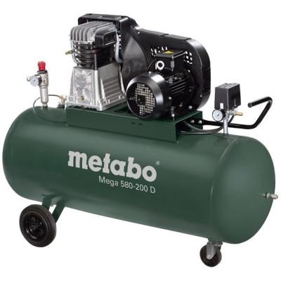 Olejový kompresor Mega 580-200 D Metabo