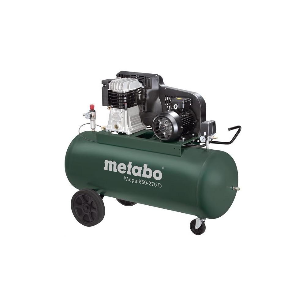 Olejový kompresor Mega 650-270 D Metabo